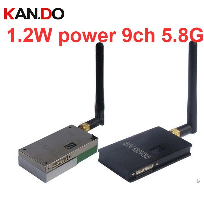 émetteur-récepteur sans fil de la puissance 9ch 5.8G d'affichage - Caméra et photo
