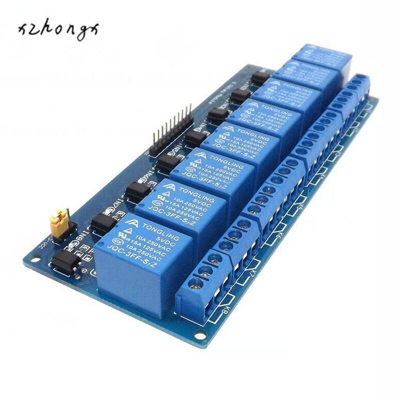 Xnwy 8 реле Модуль 5 В развязкой поддержка avr/51/PIC MCU реле