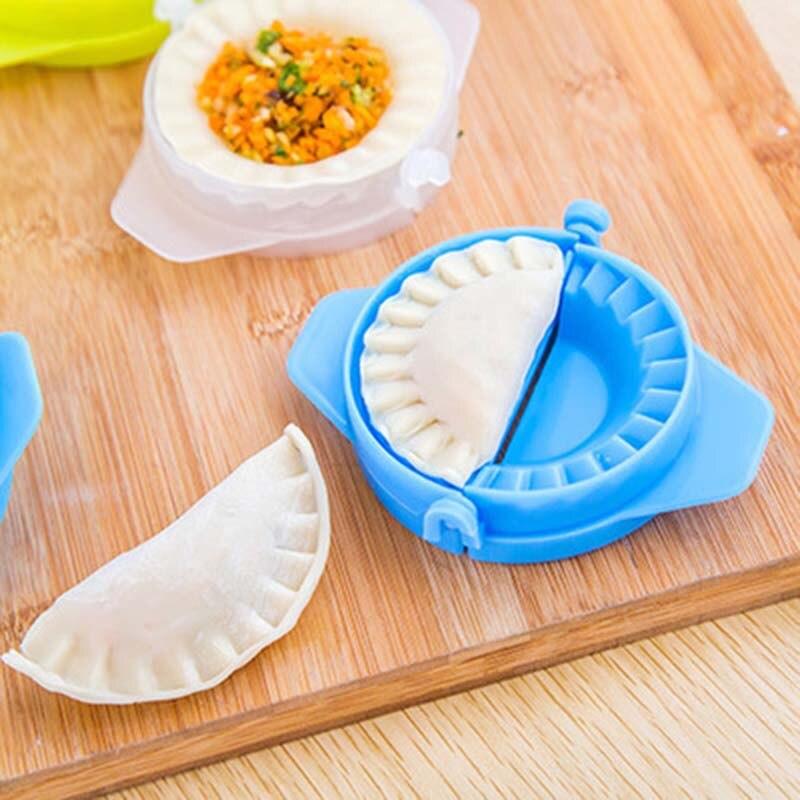 만두 모델링 도구 주방 매직 크리 에이 티브 매뉴얼 팩 기계 식품 학년 플라스틱 핀치 주방 도구 1 조각-에서파이 도구부터 홈 & 가든 의