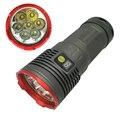 Мощный светодиодный фонарик  водонепроницаемые фонарики 7 x CREE XM-L T6 12000LM 3 режима для 4x18650 батареи с зарядным устройством