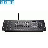 SLS-1344 새로운 192 dmx 콘솔 무선 dj 무대 조명 dmx 512 조명 컨트롤러 무대 조명 DJ 장비 DMX 콘솔