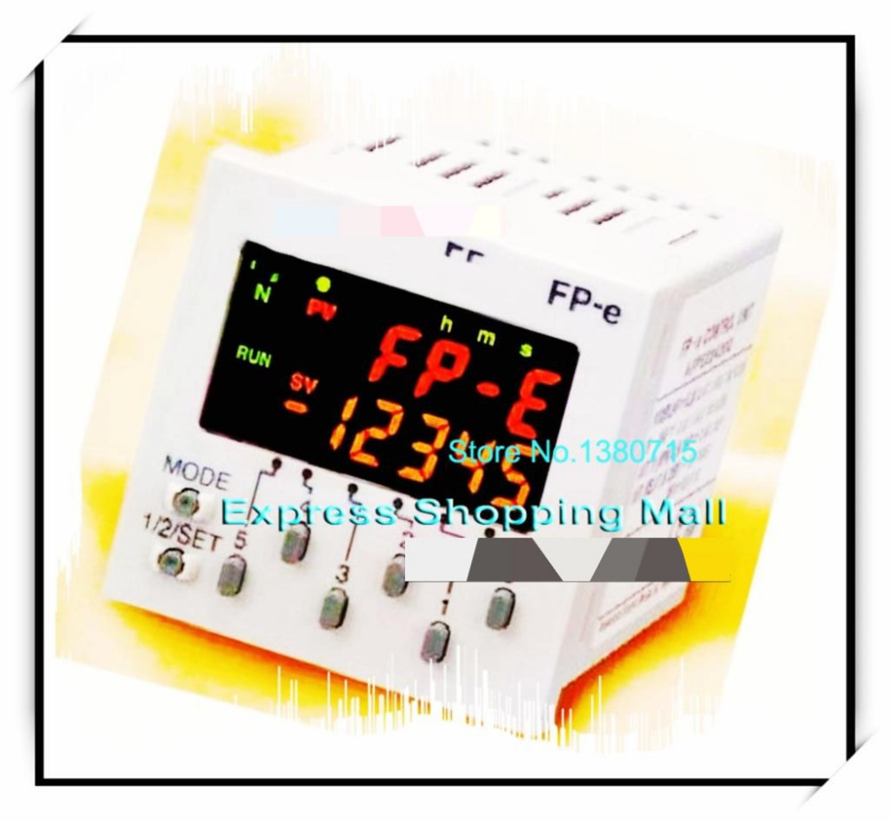 New Original AFPE214322 PLC 24VDC 6 DC input points 5 NPN output points FP-e Control Unit plc afp0rc14rs 24 v dc 8 input points 6 relay output points new original well tested working three months warranty