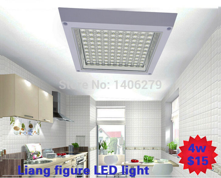 4w6W8w10w12w font b LED b font Kitchen Light Square font b led b font ceiling lamp