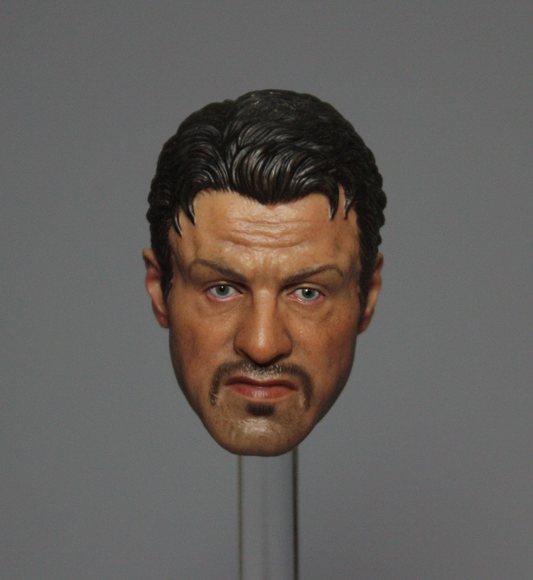 ФОТО 1/6 scale figure doll head.The Expendables Sylvester Stallone head.doll accessories for DIY12