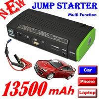 Free Shipping 12000mAh Auto Mini Multi Function Jump Starter 12v Car Battery Power Back For Notebook