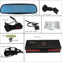 For buick Regal Dual Lens Car Mirror camera DVR Video Recorder Dash Cam Parking Monitor with Original Bracket no damage to car