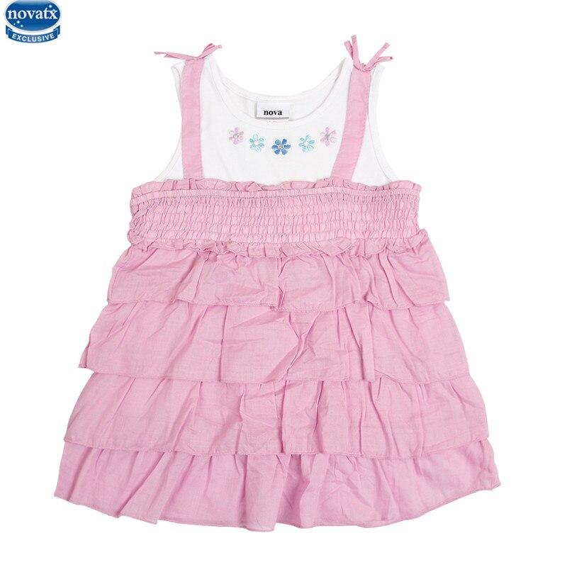 novatx H2338 summer baby girl dress nova kids children