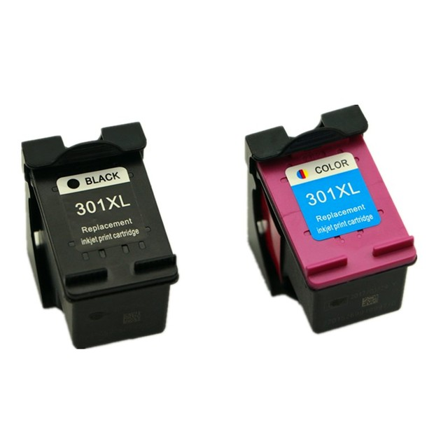 aliexpress: acheter 2pk cartouche d'encre pour hp 301