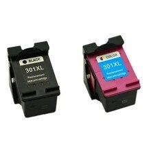 2Pk картридж с чернилами для Cartridge HP 301 для HP Deskjet 1000 1050 2050 3050 3050a зависть 5530 4500 4504 картридж для HP 301XL