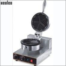 Xeoleo 5 сердца вафельница один головок Sweet Heart Тип вафельные машины вафельный сделать машины Электрический антипригарным из нержавеющей стали
