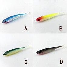 2.6g/68mm Soft Lure 6pcs/lot  for Fishing Shad Fishing Lure Fishing Worm Swimbaits Jig Head Soft Lure Fly Fishing Bait