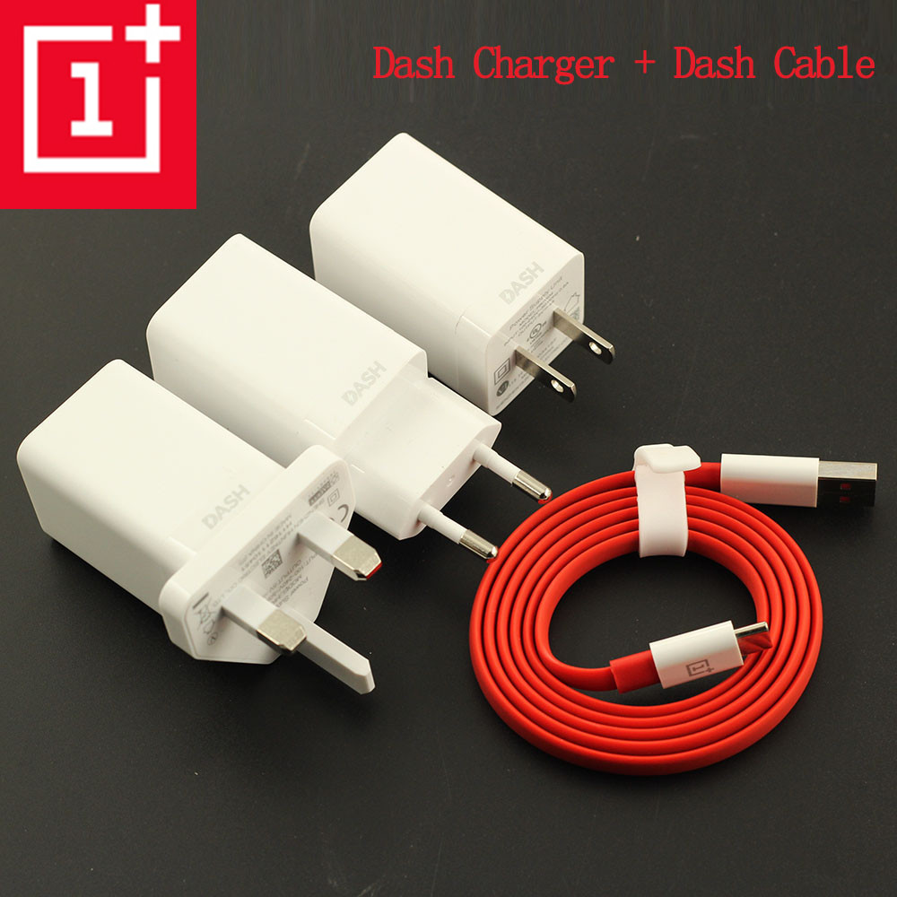 Original ONEPLUS 3 3 t 5 5 t 6 t 6 Dash Ladegerät, 5 v 4A USB Quick Charge Adapter + 100 CM/150 cm Nudel Dash Kabel EU/UNS/ UK Stecker