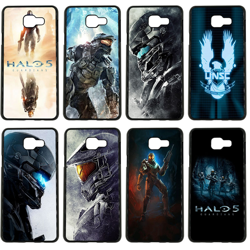Halo 5 Guardians Cell Phone Cases PC Hard Plastic Cover Protect for Samsung Galaxy S8 S9 Plus S3 S4 S5 Mini S7 S6 Edge Plus Case