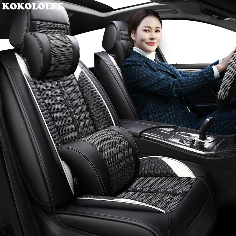 KOKOLOLEE font b Car b font seat covers for Jaguar All Models F PACE XF XFL