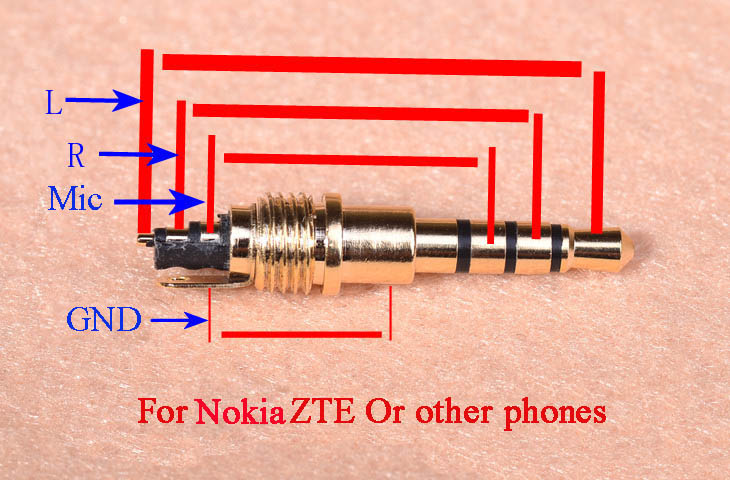 1Pcs New 3 or 4 Pole 3 5mm Male Repair headphone Jack Plug Audio Solderining 3 pole 3 5mm jack wiring new wiring diagram 2018 3.5 mm audio jack wiring at panicattacktreatment.co