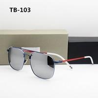 Thom TB103 New York 2019 Polarized Sunglasses Women Mens Sunglasses Brand Designer Luxury Brand with Original Box