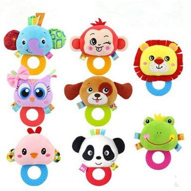 Toddlers Toys Cartoon Owl Bird Speelgoed Baby Toys Soft Plush Baby