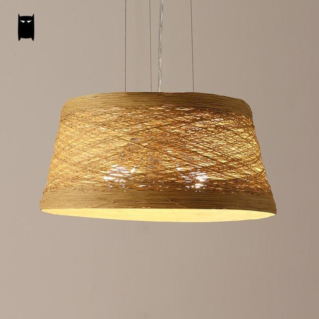 White yellow wicker rattan lampshade pendant light fixture nordic white yellow wicker rattan lampshade pendant light fixture nordic country hand woven craft lamp design aloadofball Image collections