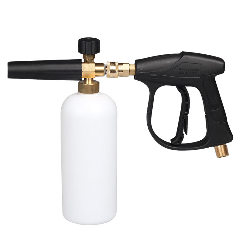 "Image 1 - Car WaCar Styling Foam Gun Car Pressure Washer Jet Wash 1/4"" Quick Release Adjustable Snow Foam Lance Foam Cannon tools-in Water Gun & Snow Foam Lance from Automobiles & Motorcycles"