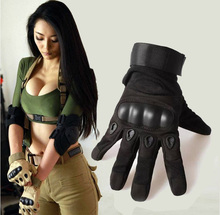 2016 Sale Us Army Tactical Gloves Field Sports Full Finger Combat Motocycle Slip-resistant Carbon Fiber Tortoise Shell