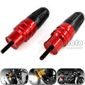 Para kawasaki z1000 z1000sx 2013-2015 rojo motocicleta crash pads sliders crash protector de escape