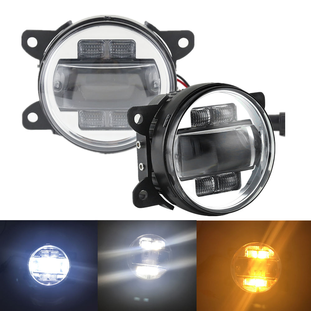 LED Fog Lights For Ford Focus 2008 2012 Freestyle 2005 2007 Mustang 2005 2009 2015 Ranger