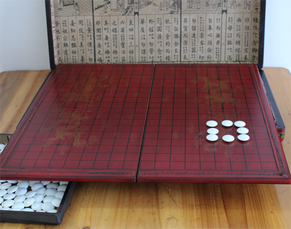 Go Retro Antique Chess Game Weiqi Set Portable Folding Board Adult Children Wooden Nice Gift In Sets From Sports