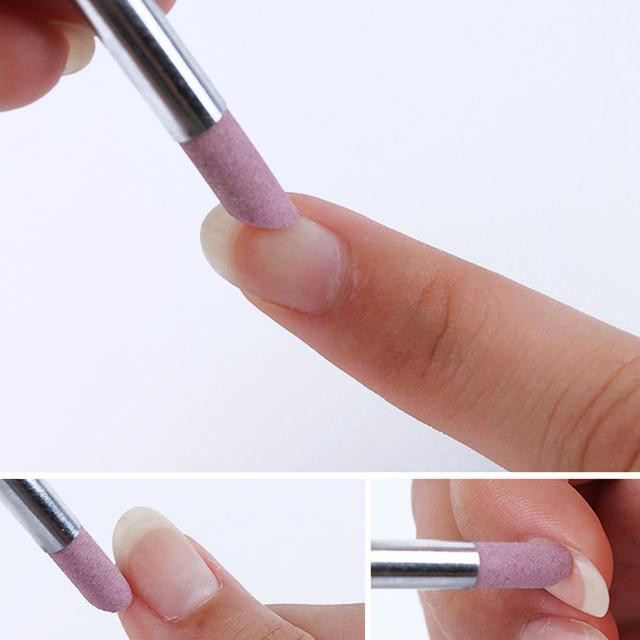 Limas de uñas de piedra y removedor de cutícula