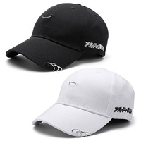 2017 Fashion Style Men Women Baseball Cap Unisex Solid Ring Pin Curved Hats Snapback Caps Casquette