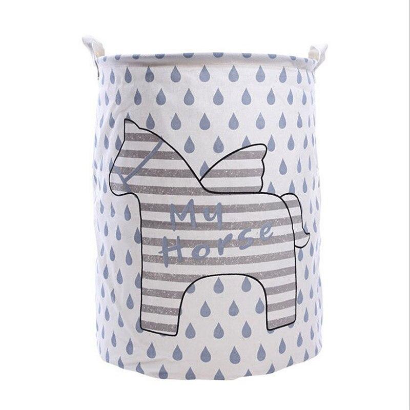 New Creative Clothes Basket Waterproof Dirty Barrel Folding Toy Bra Necktie Socks Storage Box Bag Bins Organizer Laundry Basket