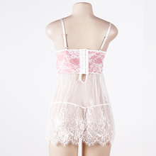 jocelyn katrina brand women's lingerie summer exotic white pajama bra type harness nightgown wholesale
