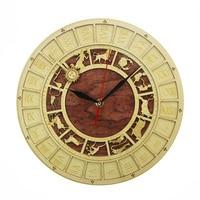 Venice Venezia Wood Clock Rustic Kichen Wall Watch Astrology Science Zodiac Wall Art Vintage Astronomical Constellations Clock|Wall Clocks| |  -