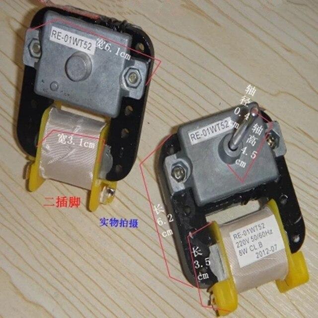 1 stks toepasbaar Samsung 220 V 8 W Koelkast radiator fan motor RE 01WT52 Koelkast Onderdelen