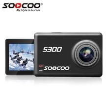 "S300 SOOCOO Action Camera 4 K 30FPS Sports Camera 2.35 ""Touchscreen Hi3559V100 IMX377 EIS Wifi Mic Externo"