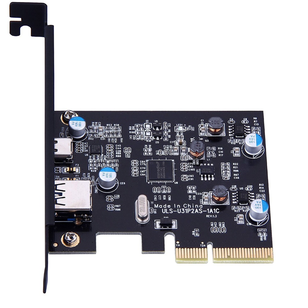 2 Ports External USB 3.1 (10Gbps) PCI Express Card tp 1 X Type C & 1 x Type A Port tp c 2