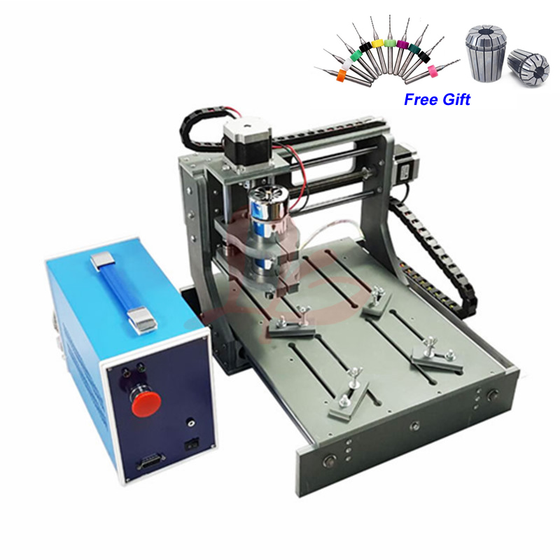 300W CNC Router 3020 Wood Carving Machine