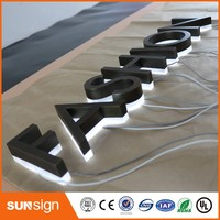 Archaize Stainless Steel 3d Company Logo Sign Led Backlit Channel Letter