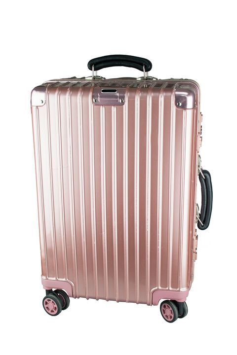 [Available from 10.11] Women's business class suitcase PROFFI TRAVEL PH8867 S pink lightweight, with TSA combination lock