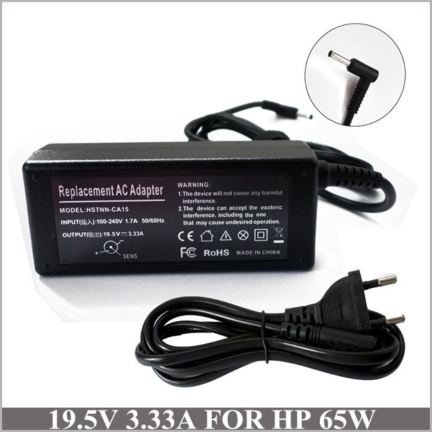 Laptop Power Supply 195V 333A 65W AC Adapter Charger For HP Pavilion 17 E064sf Envy 14K00TX 14 K027CL 14T K000 K100