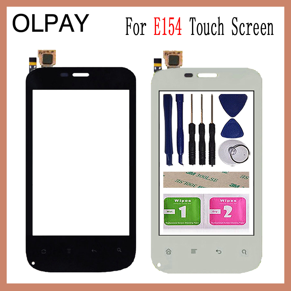 OLPAY 3.5 inch Mobile Touch Glass For Fly E154 Touch Screen Digitizer Front Glass Lens Sensor Tools Free Adhesive And WipesOLPAY 3.5 inch Mobile Touch Glass For Fly E154 Touch Screen Digitizer Front Glass Lens Sensor Tools Free Adhesive And Wipes