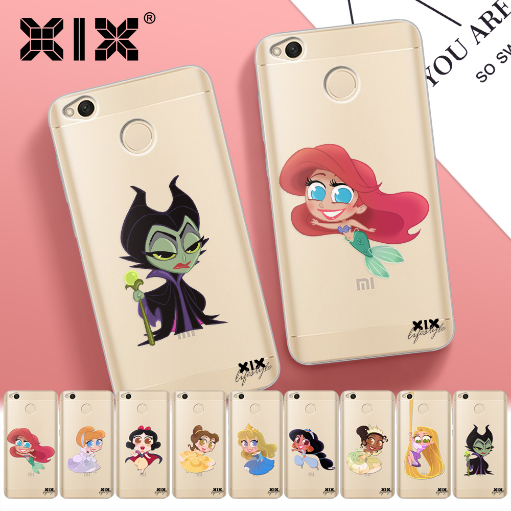 Soft TPU for Xiaomi Redmi Note 7 Case Cute Princess Cover for Xiaomi Redmi Note 5 Case 2019 Redmi 4 4X 5 Plus 5A 6 6A 7 Pro Case