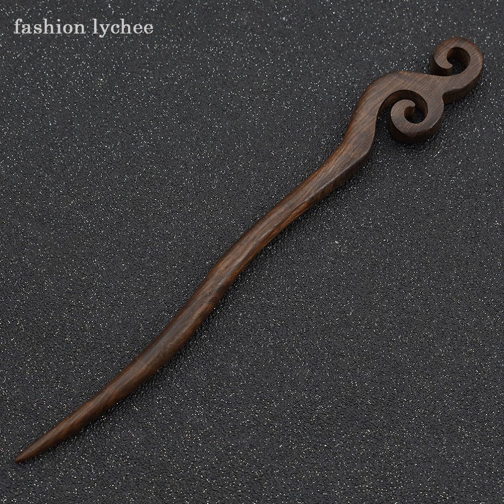 Traditional Wooden Hairpins