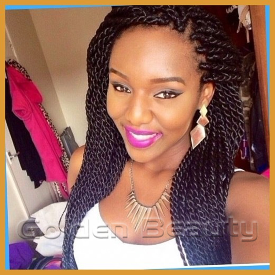 Types different of twist braids photos