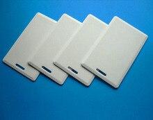 (50 יח\חבילה) 125Khz RFID לצריבה חוזרת הניתן לצריבת השכתוב כרטיסי צדפה T5557 EM4305 עבה סמיכות גישה לשכפל שיבוט