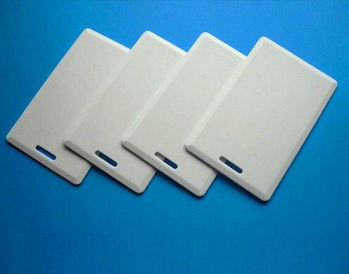 (50 قطعة/الوحدة) 125Khz RFID إعادة الكتابة قابل للكتابة بطاقات صدفي T5557 EM4305 سميكة القرب بطاقة دخول تكرار استنساخ