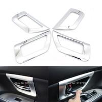 ABS Chrome Inner Door Bowl Cover Trim For Suzuki Scross Sx4 2014 4pcs Per Set