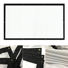 150 inches 169 outdoor large portable projection screen fabric for hd 3d movie home cinema size curtains