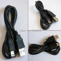 100 ピース/ロット 100 センチの USB A ミニ B 5 ピンデータケーブル v3 usb ケーブル充電器男性メートル MP3 DC 、高速、光、簡単にキャリー