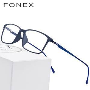 d693a36969 FONEX Glasses Frame Men Myopia Eye Eyeglasses Optical