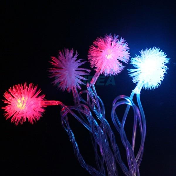 9M 50 LED Snowflake Garden Dom Nowy Rok Xmas Girlanda LED Dekoracja - Oświetlenie wakacje - Zdjęcie 4